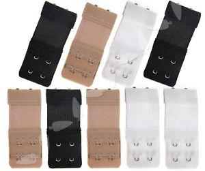 a632a0f0f8550 WH 3Pcs Bra Extender 2 Hooks Women Strap Underwear Elastic Extension ...