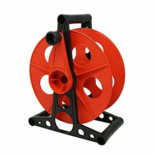 125-Foot Woods E-102 Heavy DutyCables Holder Extension Cord Storage Wheel