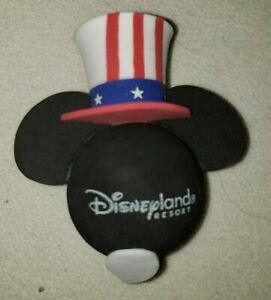 Disneyland-Antenna-Topper-Lincoln-USA-Stars-Stripes-Red-White-Blue-4th-of-July