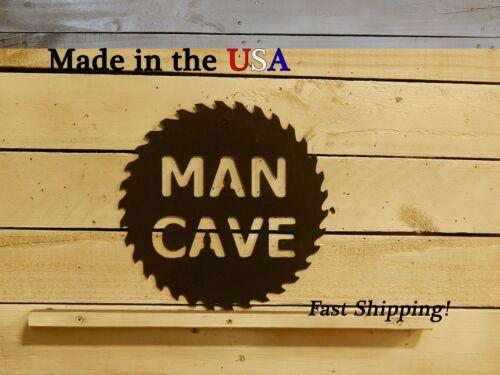 Man Cave Decor Man Cave Garage Tool Shop Saw Sign S1067 Metal Art