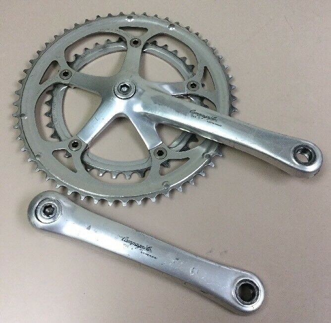 CAMPAGNOLO MIRAGE CRANKSET 9 OF 10 SPEED DOUBLE
