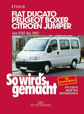 WERKSTATTHANDBUCH FIAT DUCATO 250 REPARATURANLEITUNG Peugeot Boxer Citroën Jumpe