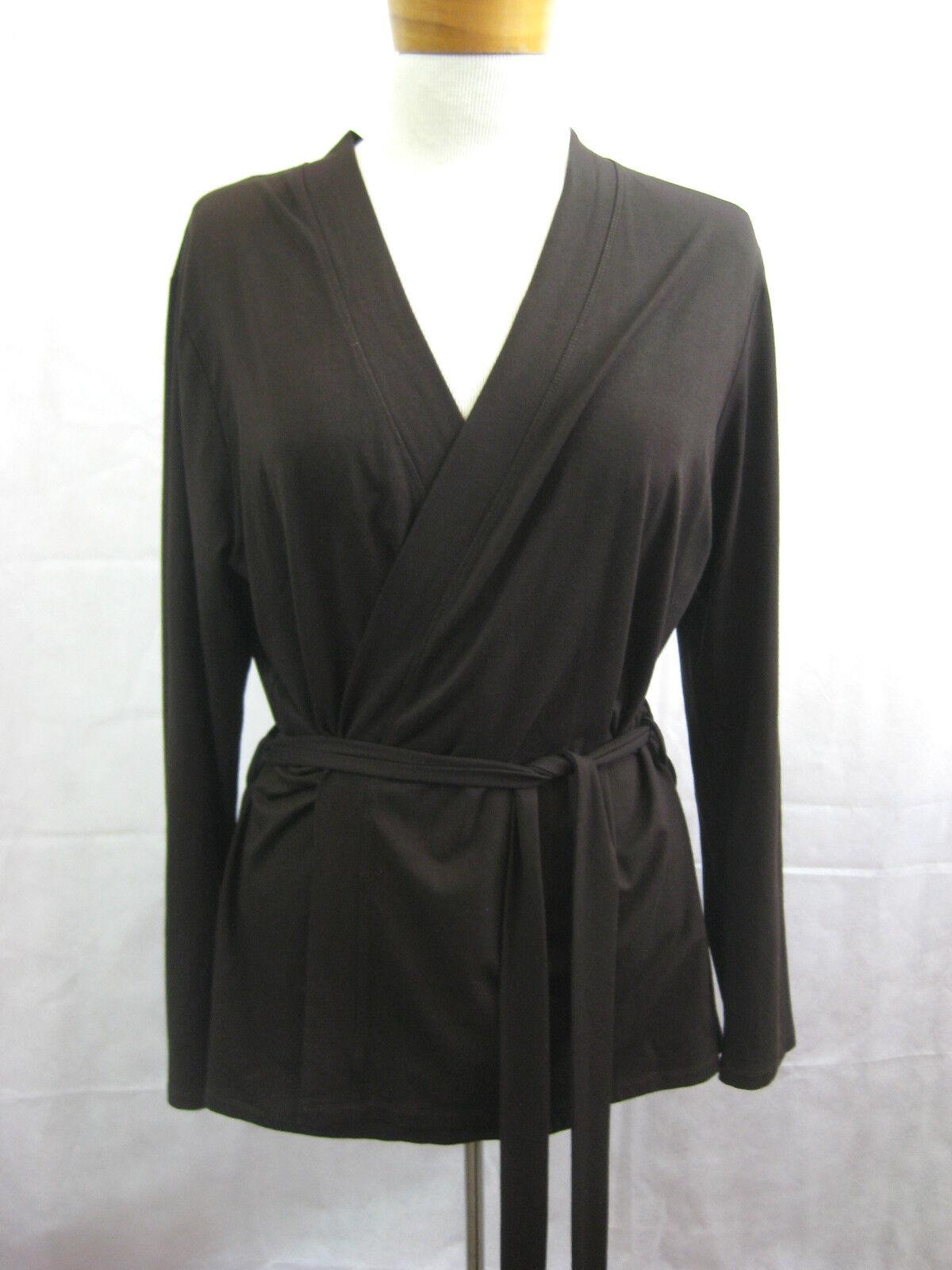 Mela Purdie Size 12 Casual Brown Skirt Suit