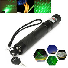 PRO G303 Green Laser Pointer Pen Adjustable Focus 532nm Lazer Visible Beam