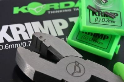 Korda Criming Tool and Crimps Range 0.6mm and 0.7mm In Stock