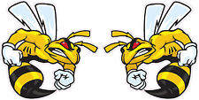 "Ski-Doo Angry Bee Pairs Decal 5"" Each"