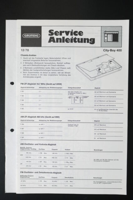 Grundig City Service Manual  Wiring Diagram  O31