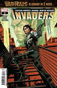 Invaders-3-War-of-Realms-Prelude-Marvel-Comic-1st-Print-2019-unread-NM