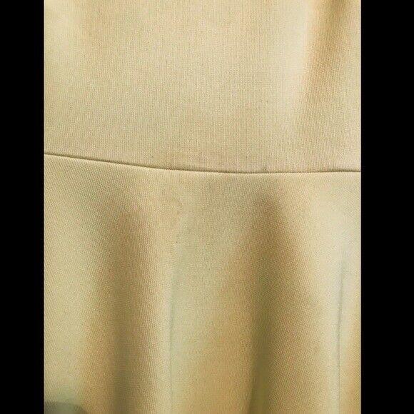Gianni Bini Bright Yellow Aline Dress. Size Small - image 7