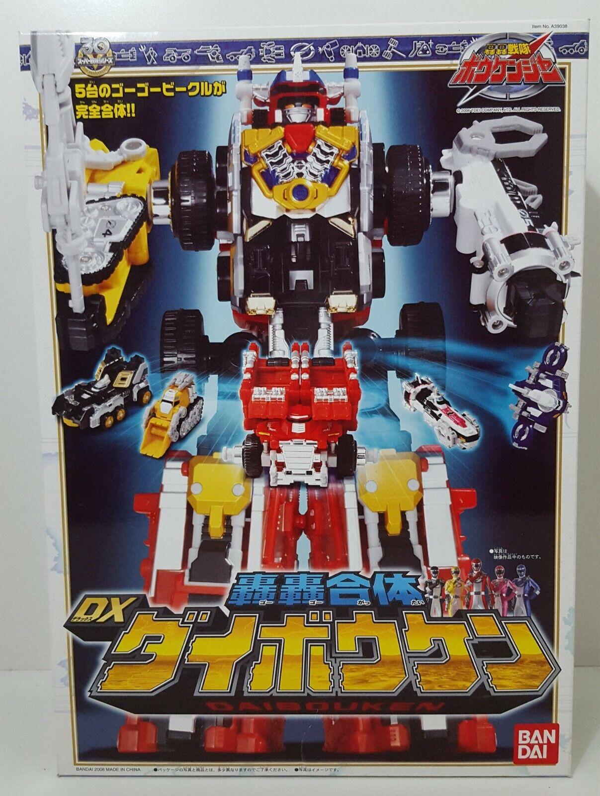 Power Rangers Operation Overdrive DriveMax Megazord GoGo Sentai Boukenger