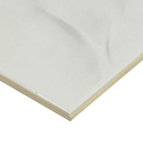 Ersatzfliese Wand Alfa Ceramiche E2176 Madrid grau weiß marmoriert 20 x 25 cm