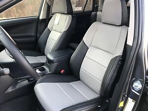 2015 2016 Toyota RAV4 XLE KATZKIN REPLACET LEATHER SEAT COVERS ...