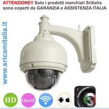 Sricam Italia DOME IP CAMERA  WIRELESS WIFI SENSORE DI MOVIMENTO ESTERNO H3-V10R