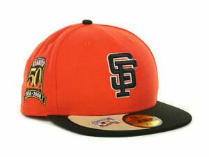 Official MLB San Francisco Giants New Era 50th Anniversary 59FIFTY ... bd951ace9e35