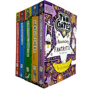 Tom-Gates-Series-1-5-Books-Children-Collection-Paperback-Set-By-Liz-Pichon