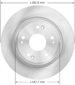 Disc-Brake-Rotor-EX-Rear-Bendix-PRT5773