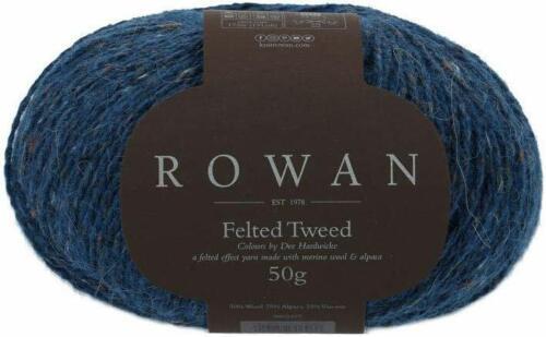 ROWAN FELTED TWEED DK knitting yarn sh 804 night sky