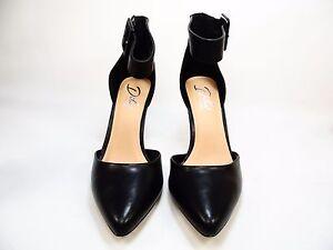 0e769b2c5ec Details about Diba London Pizazz Ankle-Strap Womens Pumps Black Size 8.5 M