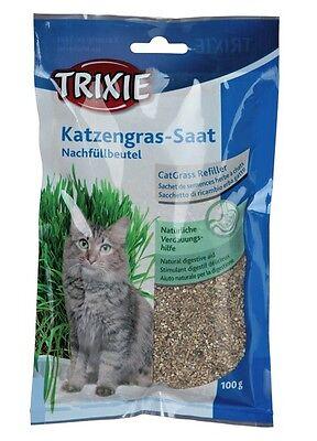 Trixie Gatto Gattino Erba Ricarica Sacchetto Semi Di Grano, Crescono A Casa Digestivo Aid4233- Fissare I Prezzi In Base Alla Qualità Dei Prodotti