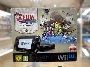 Console Wii U Edition Limité The Legend Of Zelda En Boite