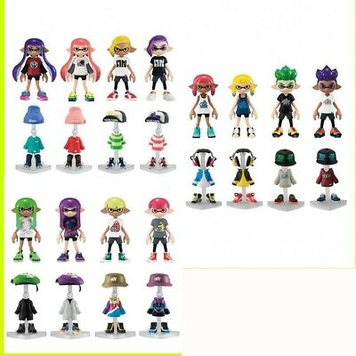 8pieces Splatoon 2 Kisekae Gear Collection 2 Character Goods Bandai Japan