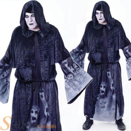 Homme âme oubliée fantôme démon mort horreur halloween costume robe fantaisie