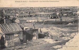 CPA 62 LENS VUE GENERALE LES NOUVELLES CONSTRUCTIONS (cliché pas courant