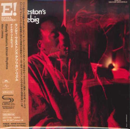 RANDY WESTON'S AFRICAN RHYTHMS-NILES LITTLEBIG-JAPAN MINI LP SHM-CD Ltd/Ed G00