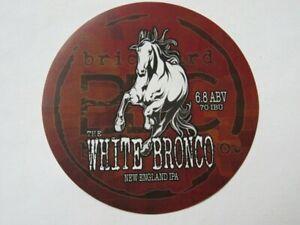 Bier-Aufkleber-Ziegelei-Gaer-Co-Weiss-Bronco-New-England-Ipa-Lewiston-Ny