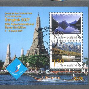 Nouvelle-zélande-bangkok Min Feuille Fine Used Cto 2007-k Min Sheet Fine Used Cto 2007 Fr-fr Afficher Le Titre D'origine Officiel 2019