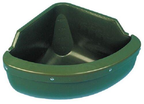 Comedero eckmodell 31 litro con protección borde pferdetrog barro 32592