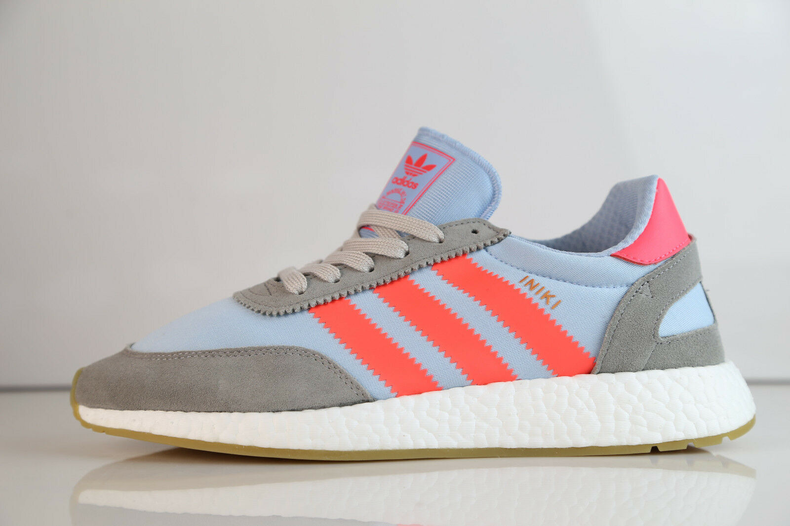 Adidas Boost Boost Boost Iniki Runner grigio Turbo Gum BB2098 8.5-12 ultra suede originals 1afca5