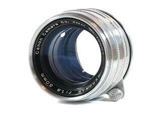 ausgezeichnete-5-Canon-50mm-f-1-8-Serenar-Leica-Screw-Mount-LTM-l39-aus-Japan