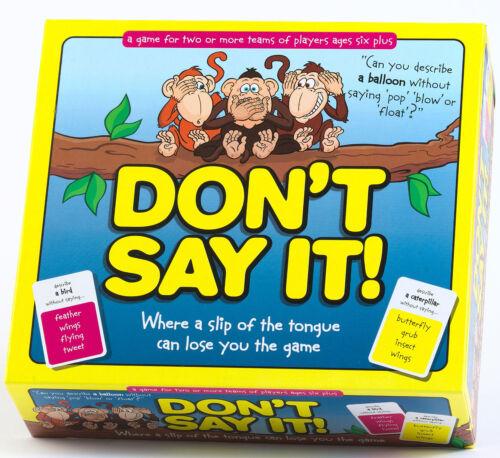 Ne pas le dire-Brand New Family Word Board Game