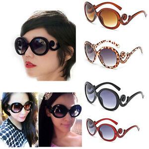 12c64901be6 Image is loading Women-Retro-Vintage-Shades-Fashion-Oversized-Designer- Sunglasses-