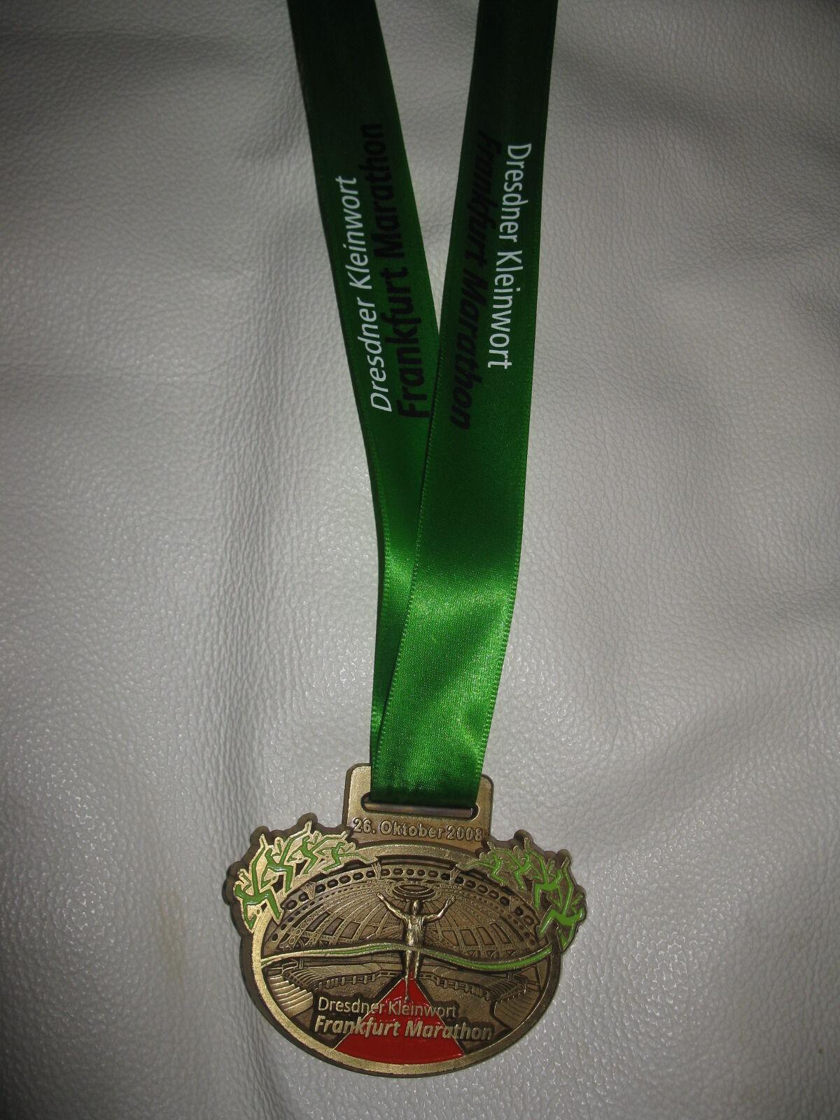 Frankfurt Marathon 2008 Dresdner Marathon Marathon Marathon Finisher Medaille Leichtathletik 839050