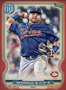 2020 Topps BUNT Willians Astudillo Gypsy Queen RED Base Iconic! [DIGITAL CARD}