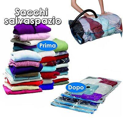 10 Buste Salvaspazio Sacchetti Sottovuoto 98x68 Cm Sacco Space Bag Sacchetto Rendere Le Cose Convenienti Per Le Persone
