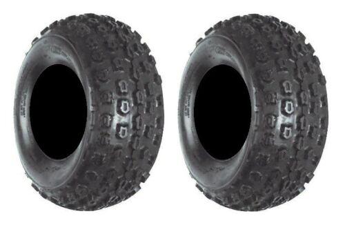 Front 18x7-7 ATV Tires Pair of CST C864 2ply 2