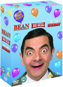 Mr Bean 20 Years Of Mr Bean Box Set Dvd Ebay