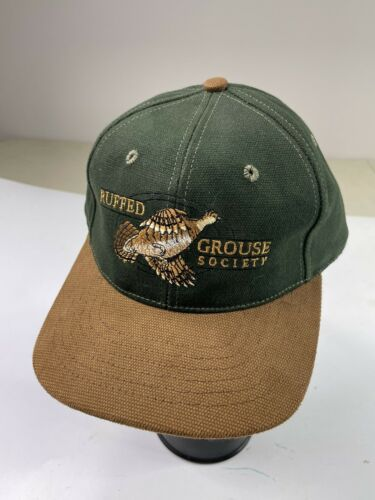 Vintage LL BEAN Ruffed Grouse Society Embroidered