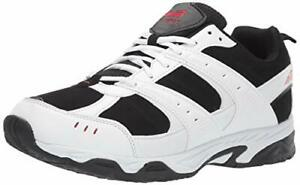 Avia Men's Faux Leather Lightweight  Memory Foam Avi-verge US 7.5 XW Sneaker