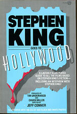 Stephen King Goes to Hollywood by Jeff Conner-First Paperback Printing-1987