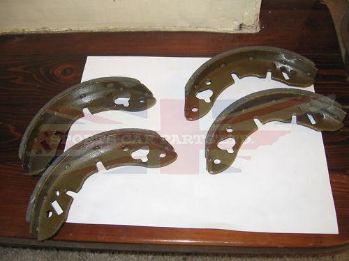 Set of New Rear Brake Shoes MG MIdget Austin Healey Sprite 1963-79 Good Quality