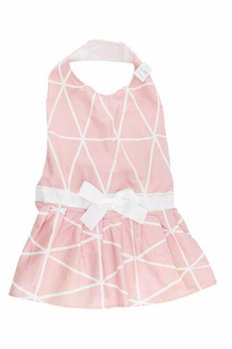 Vestido geométrico Rosa Perro Grande por midlee