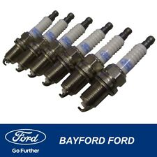 SPARK PLUG SET IRIDIUM FORD BF & FG FALCON LPG EGAS GENUINE FORD QTY 6