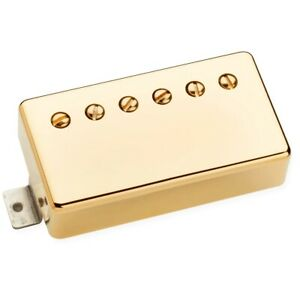 Seymour Duncan Benedetto A-6 Neck Gold Cover Pickup per Jazz