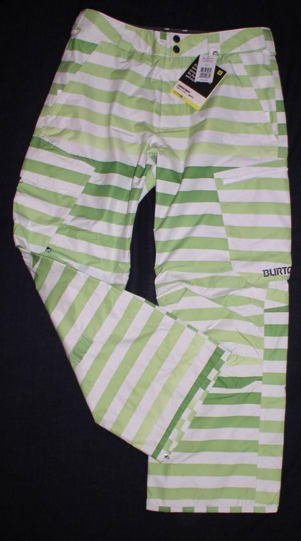 Nuovo Burton Burton Burton Absynth Bigstripe Fade Cargo Pantaloni da Snowboard Uomo XXL Eu 46 0f567c