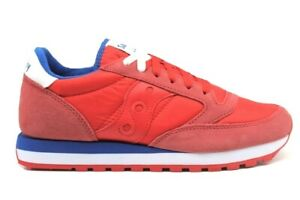 Saucony-Jazz-S2044-557-Rosso-Sneakers-Uomo-Scarpa-Sportiva-Casual