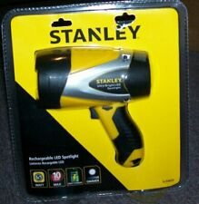 NEW STANLEY SL5W09 Rechargeable 192 Lumen LED Ultra Bright Spotlight SHIPS FREE